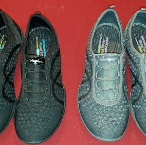2 pair Skechers Relaxed Fit Breathe Easy Fortune-K